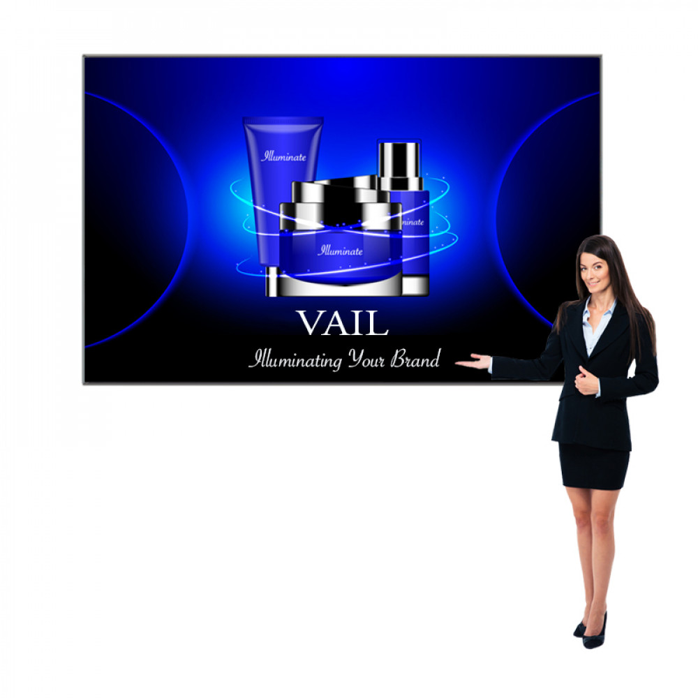 Personalized VAIL 120DB 2 x 9 Single-Sided Graphic Package